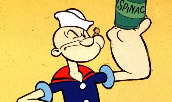 Comunicar con la fuerza de Popeye.